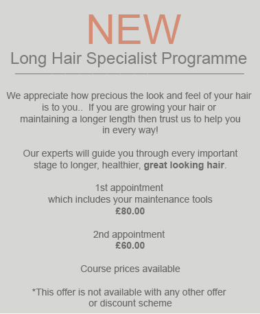 New specialist long hair service